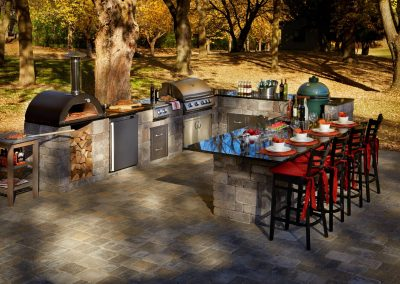 outdoor living space contractors