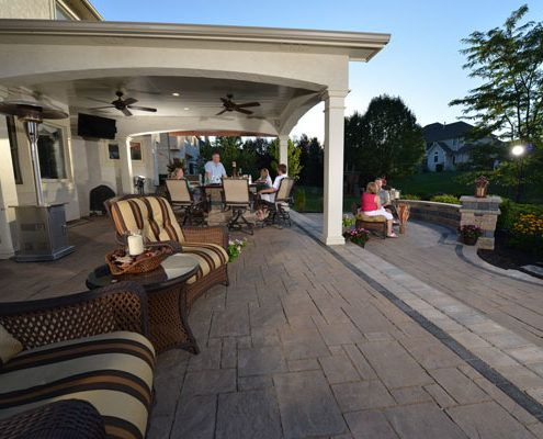 Unilock Paver Patio Deerfield Illinois