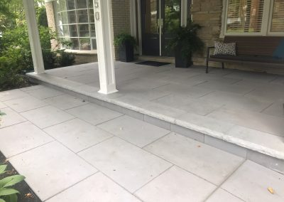 Unilock paver patio Lake Forest